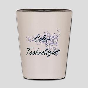 Color Technologist Artistic Job Design Shot Glass