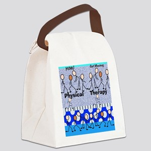 Physical Therapy Canvas Lunch Bag