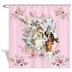 Goats Are God's Precious Gifts Shower Curtain