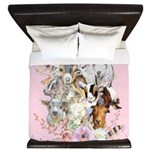 Goats are God's Precious Gifts King Duvet