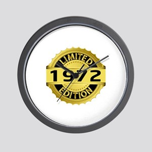 Limited Edition 1972 Wall Clock