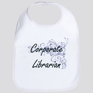 Corporate Librarian Artistic Job Design with F Bib