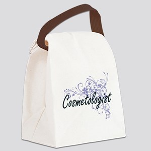 Cosmetologist Artistic Job Design Canvas Lunch Bag