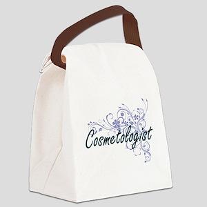 Cosmetologist Artistic Job Design Canvas Lunch Bag