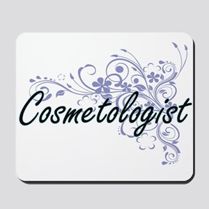 Cosmetologist Artistic Job Design with F Mousepad