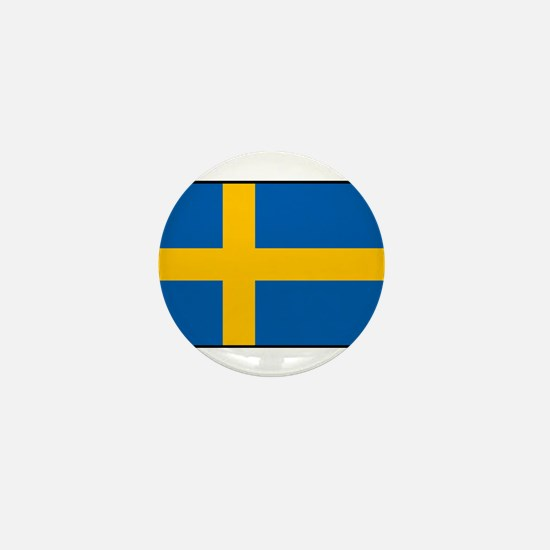Sweden - Swedish Flag Mini Button