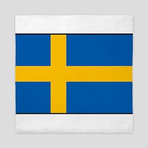 Sweden - Swedish Flag Queen Duvet