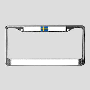 Sweden - Swedish Flag License Plate Frame