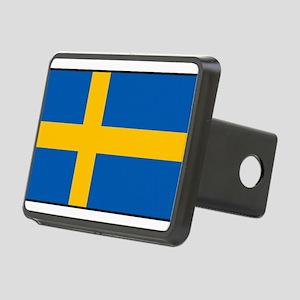 Sweden - Swedish Flag Rectangular Hitch Cover