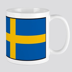 Sweden - Swedish Flag Mugs
