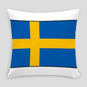 Sweden - Swedish Flag Everyday Pillow