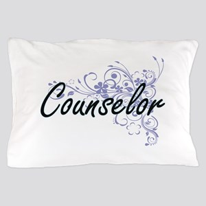 Counselor Artistic Job Design with Flo Pillow Case