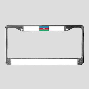Azerbaijan - Azerbaijani National Flag License Pla