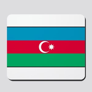 Azerbaijan - Azerbaijani National Flag Mousepad