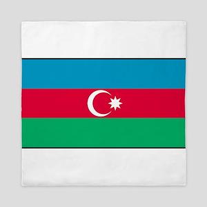 Azerbaijan - Azerbaijani National Flag Queen Duvet