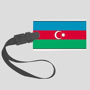 Azerbaijan - Azerbaijani National Flag Large Lugga