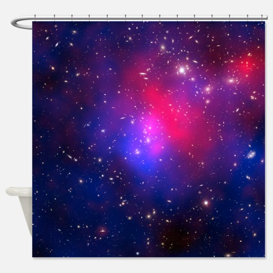 Pandoras Cluster Galaxy Space Shower Curtain