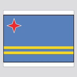 Aruba - Aruban National Flag Poster Design