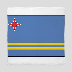 Aruba - Aruban National Flag Queen Duvet