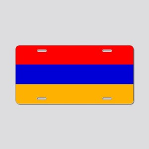 Armenia - Armenian National Flag Aluminum License
