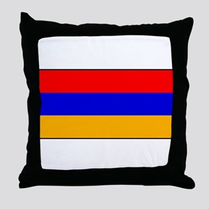 Armenia - Armenian National Flag Throw Pillow