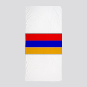 Armenia - Armenian National Flag Beach Towel