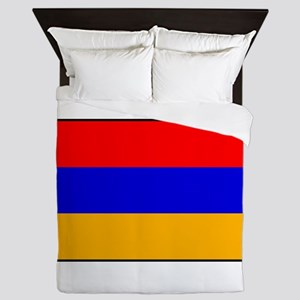 Armenia - Armenian National Flag Queen Duvet
