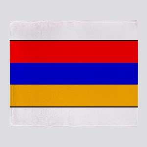 Armenia - Armenian National Flag Throw Blanket