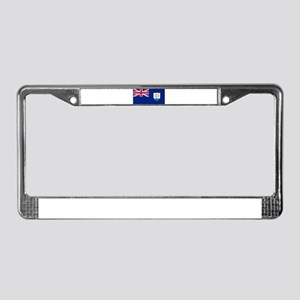 Anguilla - Anguillian Flag License Plate Frame