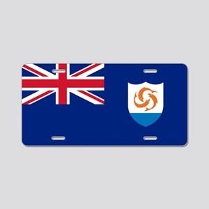 Anguilla - Anguillian Flag Aluminum License Plate