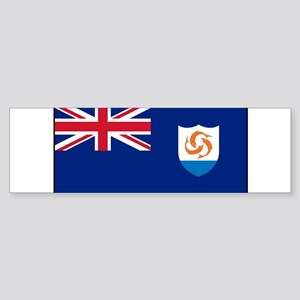 Anguilla - Anguillian Flag Bumper Sticker