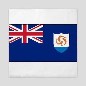 Anguilla - Anguillian Flag Queen Duvet