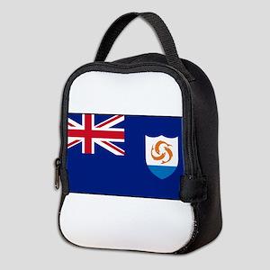 Anguilla - Anguillian Flag Neoprene Lunch Bag