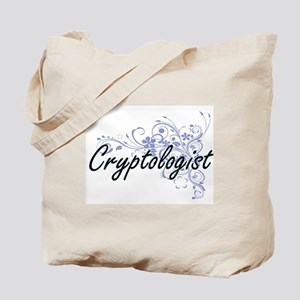 Cryptologist Artistic Job Design with Flo Tote Bag