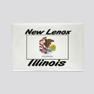 New Lenox Illinois Rectangle Magnet