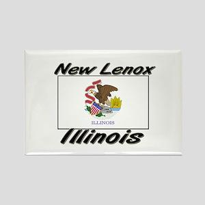 New Lenox Illinois Rectangle Magnet