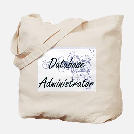 Database Administrator Artistic Job Desig Tote Bag