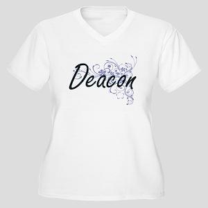 Deacon Artistic Job Design with Plus Size T-Shirt