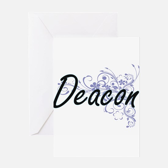 Deacon Artistic Job Design with Flo Greeting Cards