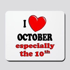 October 10th Mousepad