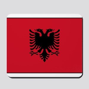 Albania - Albanian Flag Mousepad
