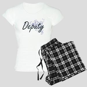 Deputy Artistic Job Design Women's Light Pajamas