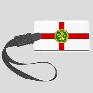Alderney Flag Large Luggage Tag