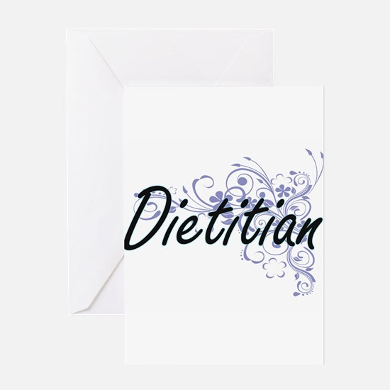 Dietitian Artistic Job Design with Greeting Cards