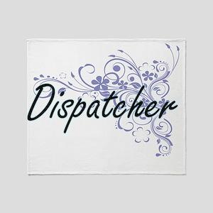 Dispatcher Artistic Job Design with Throw Blanket