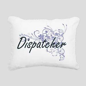 Dispatcher Artistic Job Rectangular Canvas Pillow