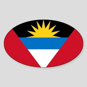 Antigua Barbuda Flag Sticker