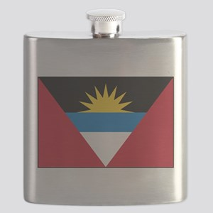 Antigua Barbuda Flag Flask