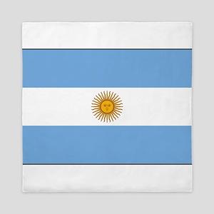 Argentina - Argentine Flag Queen Duvet