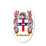 Olbrecht 20x12 Oval Wall Decal